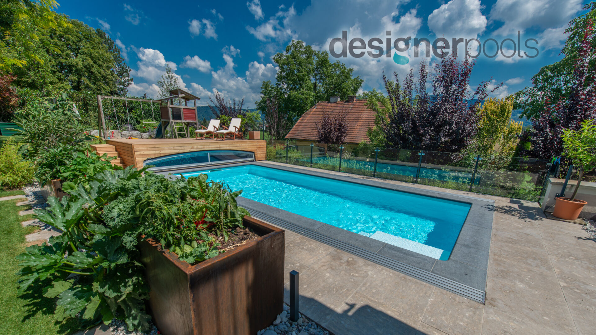 Belize-Flachskimmerpool HYFLO - designerpools