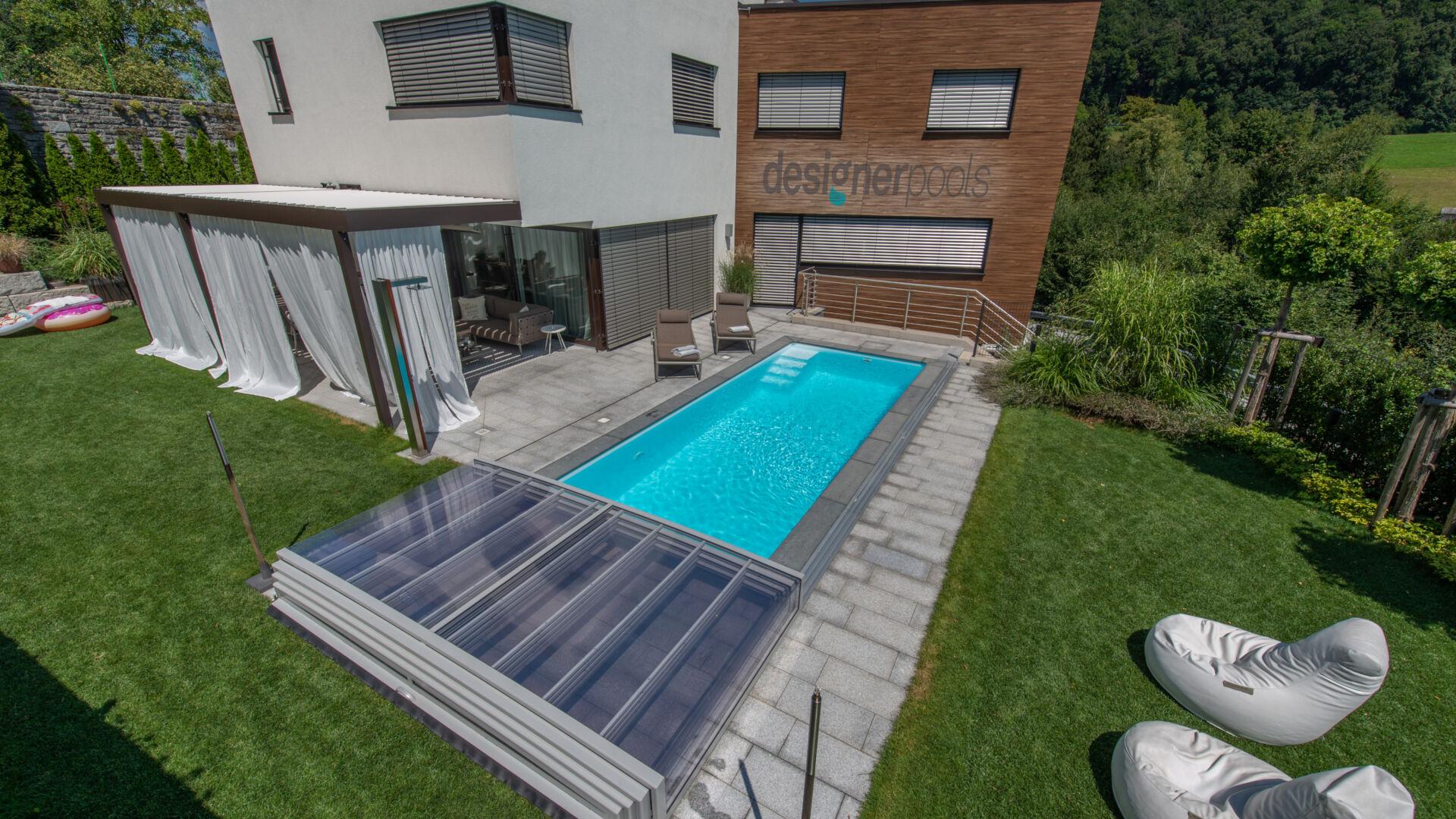 Pool-Überdachung - designerpools